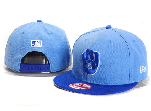 MLB Milwaukee Brewers Stitched Snapback Hats 009